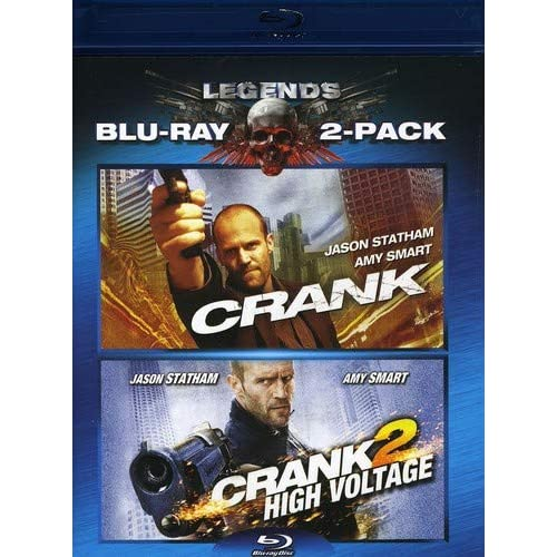 Image 0 of Crank / Crank 2 Two-Pack Blu-Ray On Blu-Ray With Jason Statham