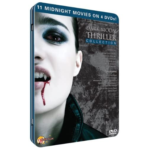 Image 0 of Dark Moon Thriller 4PC Tin On DVD With Various Artists Mystery
