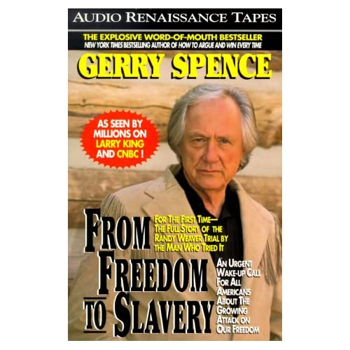 Image 0 of From Freedom To Slavery By Gerry Spence On Audio Cassette