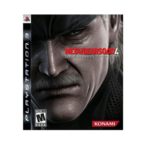 Image 0 of Konami Metal Gear Solid 4 Game for PlayStation PS3