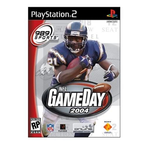 Image 0 of NFL Gameday 2004 For PlayStation 2 PS2 Football