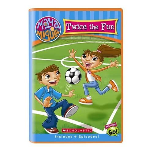 Image 0 of Maya Miguel: Twice The Fun Soccer Children On DVD