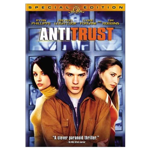 Image 0 of Antitrust Special Edition On DVD with Ryan Phillippe Mystery