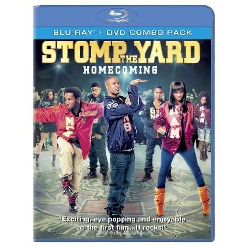 Image 0 of Stomp The Yard: Homecoming Blu-Ray On Blu-Ray With Collins Pennie Drama