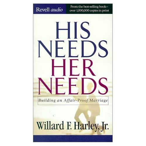 Image 0 of His Needs Her Needs: Building An Affair-Proof Marriage By Willard Fjr Harley On