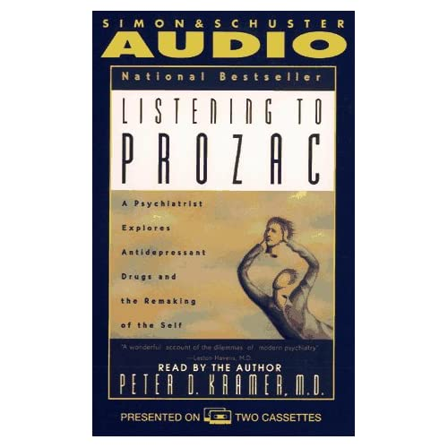 Image 0 of Listening To Prozac By Peter D Kramer On Audio Cassette