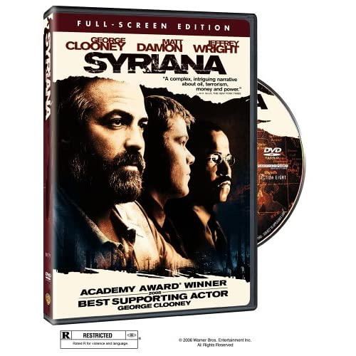 Syriana Full Screen Edition On DVD With George Clooney