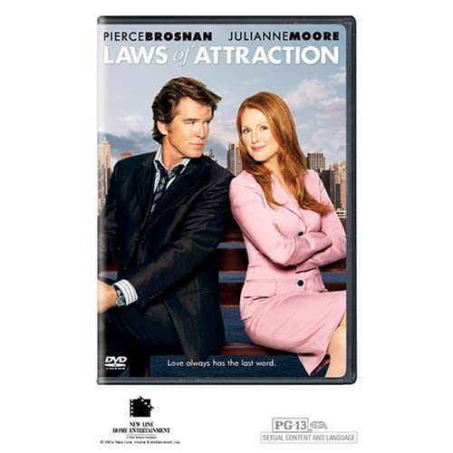 Image 0 of Laws Of Attraction On DVD with Pierce Brosnan Romance