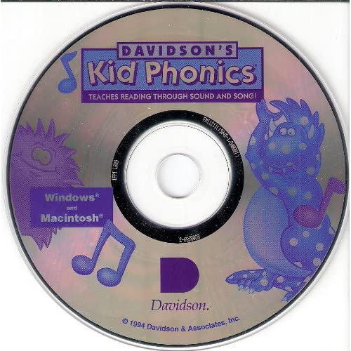 Image 0 of Davidson's Kid Phonics Software English