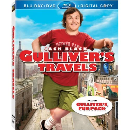 Gulliver's Travels Blu-Ray/dvd On Blu-Ray With Amanda Peet Comedy
