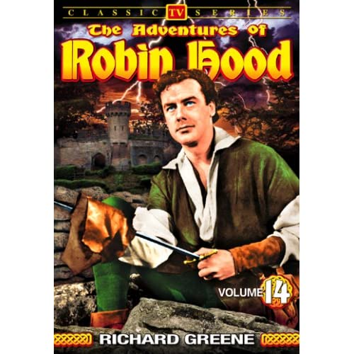 Image 0 of Adventures Of Robin Hood Volume 14 On DVD With Richard Greene