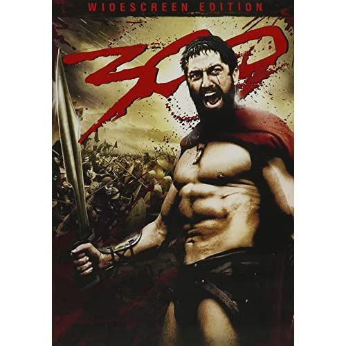 Image 0 of 300 Single-Disc Widescreen Edition On DVD With Gerard Butler