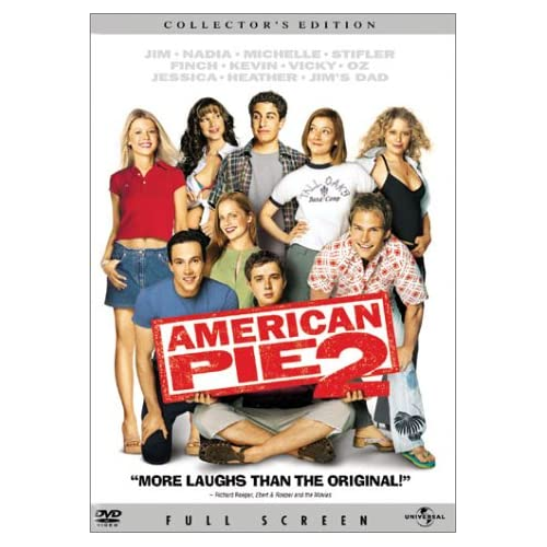 Image 0 of American Pie 2 Full Screen Edition On DVD With Jason Biggs