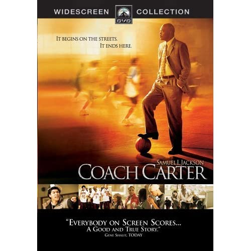 Image 0 of Coach Carter Widescreen Edition On DVD With Samuel L Jackson