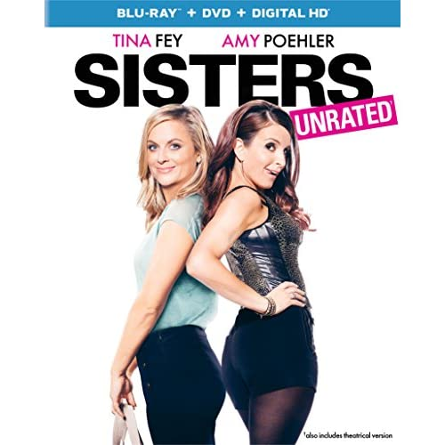 Image 0 of Sisters Blu-Ray On Blu-Ray With Tina Fey Comedy