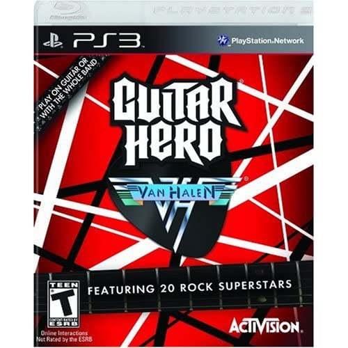 Guitar Hero Van Halen Game Only For PlayStation 3 PS3