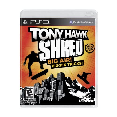 Tony Hawk: Shred Stand-Alone Software For PlayStation 3 PS3