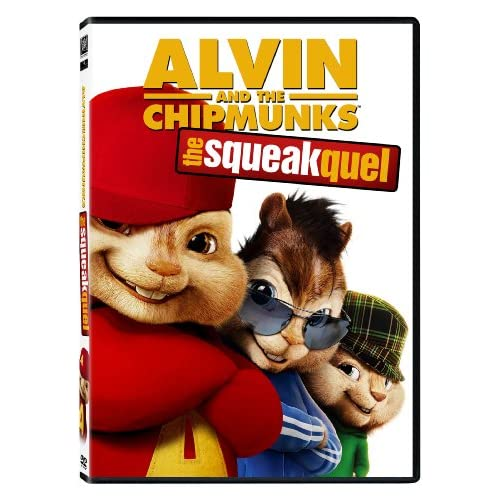 Image 0 of Alvin And The Chipmunks: The Squeakquel Single-Disc Edition On DVD With Anna Far