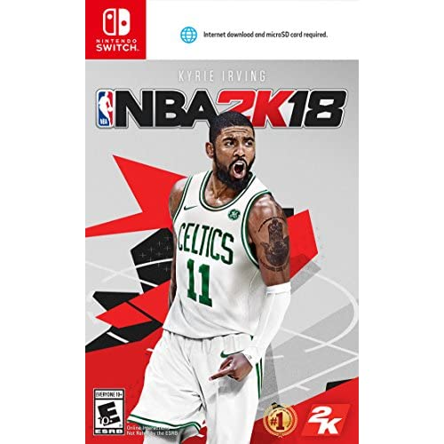 NBA 2K18 Standard Edition Nintendo Switch Basketball