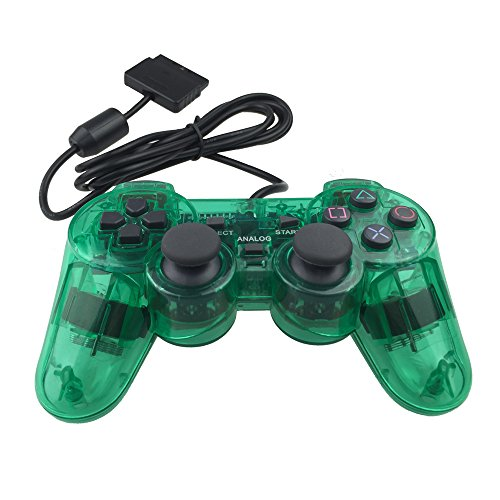 Image 0 of PS2 Wired Controller For Sony PlayStation 2 Green