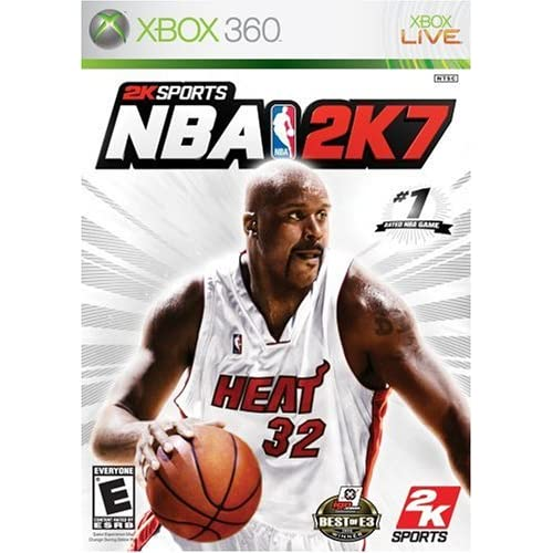 NBA 2K7 For Xbox 360 Basketball With Manual and Case