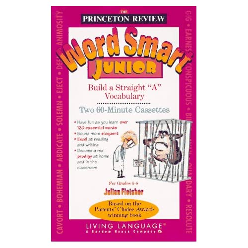 Image 0 of Ll Princeton Review Word Smart Junior By Princeton Review On Audio Cassette