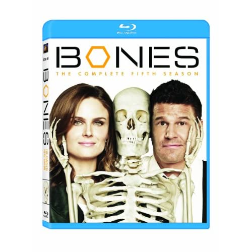 Bones: Season 5 Blu-Ray On Blu-Ray With David Boreanaz