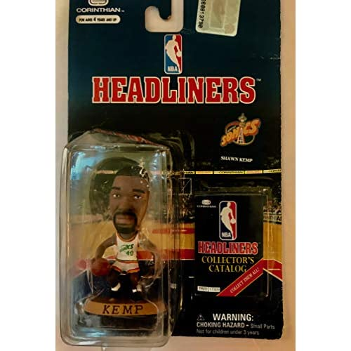 Image 0 of Headliners Shawn Kemp / Seattle Sonics 3 Inch NBA Basketball Collector Figure To