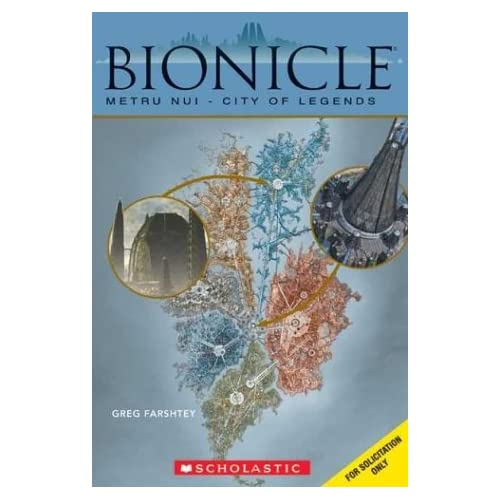 Metru Nui City Of Legends Bionicle Book Comic