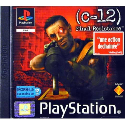 C-12 Final Resistance For PlayStation 1 PS1