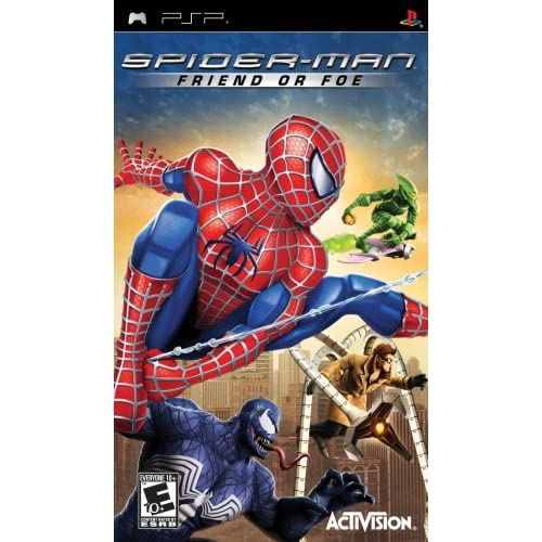 Image 0 of Spiderman: Friend Or Foe Sony For PSP UMD