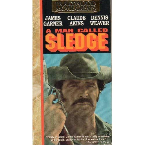 A Man Called Sledge On VHS With James Garner
