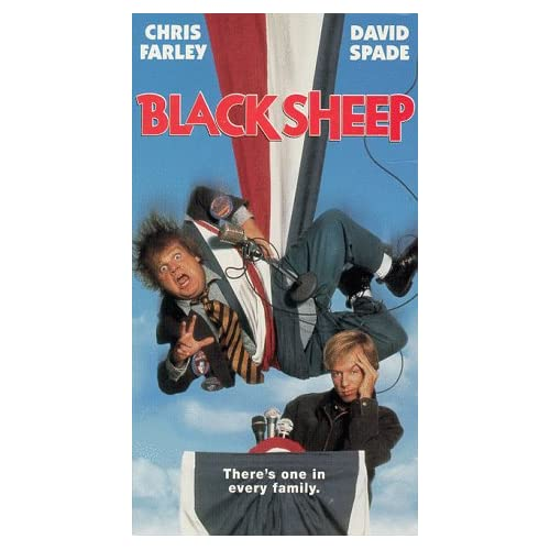 Black Sheep On VHS With Chris Farley