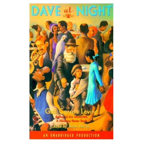 Image 0 of Dave At Night By Gail Carson Levine And Jason Harris Reader On Audio Cassette