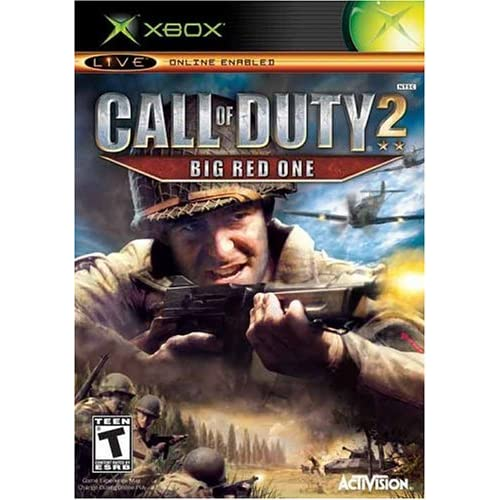 Call Of Duty 2 Big Red One Xbox For Xbox Original COD