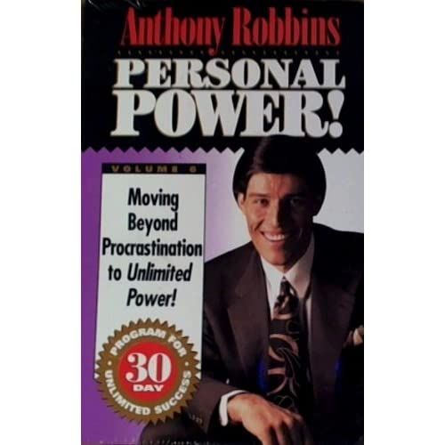 Image 0 of Anthony Robbins Personal Power! #6 Moving Beyond Procrastination To Unlimited Po