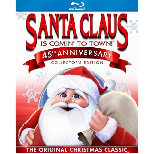 Santa Claus Is Comin' To Town On Blu-Ray With Mickey Rooney Fred