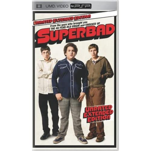 Superbad Unrated UMD For PSP