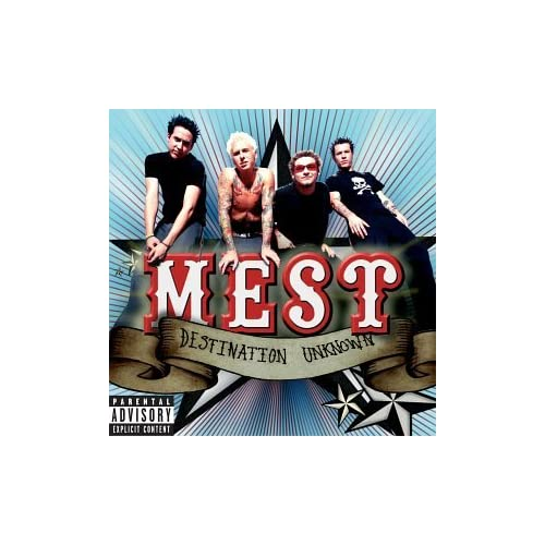 Image 0 of Destination Unknown Mest Album Rock 2001 by Mest On Audio CD