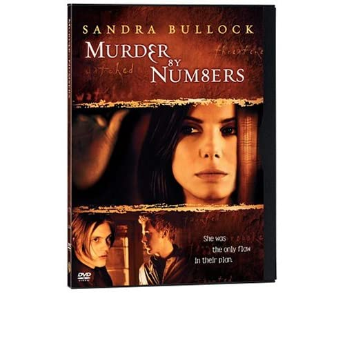 Image 0 of Murder By Numbers Full-Screen Edition Snap Case On DVD With Sandra