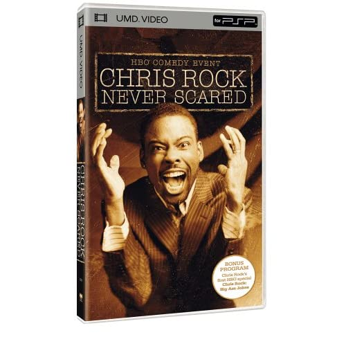 Image 0 of Chris Rock Never Scared UMD For PSP