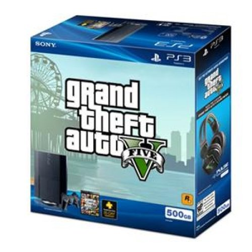 Image 0 of Sony PlayStation 3 Gaming Console 500GB Grand Theft Auto V