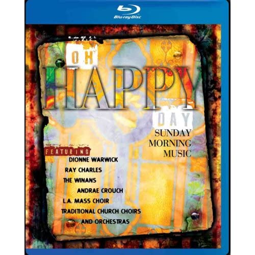 Oh Happy Day Sunday Morning Music Blu-Ray With Various Artists Soundtrack Featur