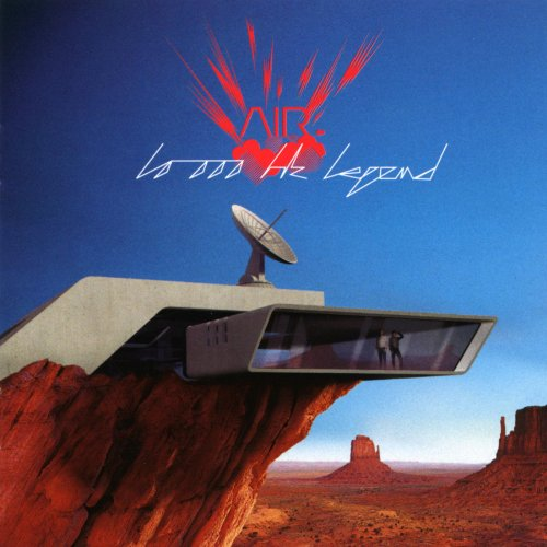 10000 Hz Legend By Air On Audio CD Album 2001