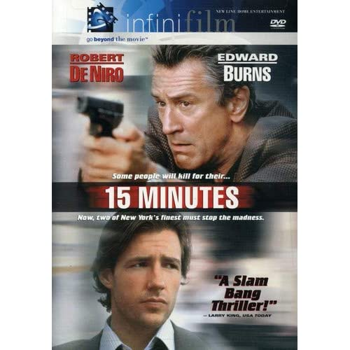 15 Minutes Infinifilm Edition On DVD With Robert De Niro Mystery