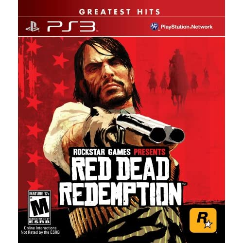 Red Dead Redemption For PlayStation 3 PS3 With Manual and Case