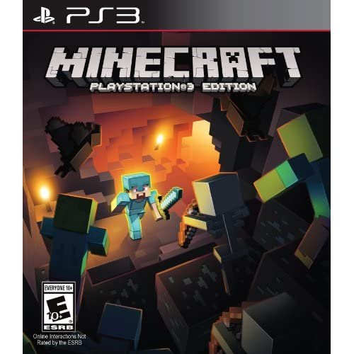 Minecraft For PlayStation 3 PS3