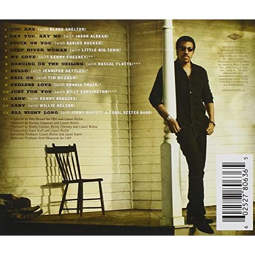 Tuskegee Lionel Richie: Tuskegee By Lionel Richie On Audio CD Album 2012