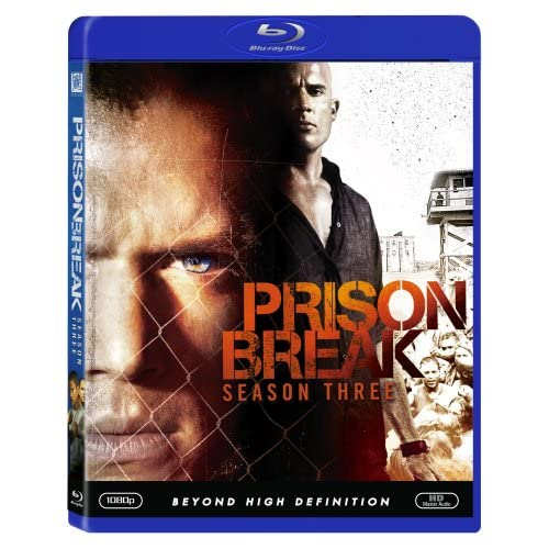 Image 0 of Prison Break Season Three Blu-Ray On Blu-Ray With Dominic Purcell 3