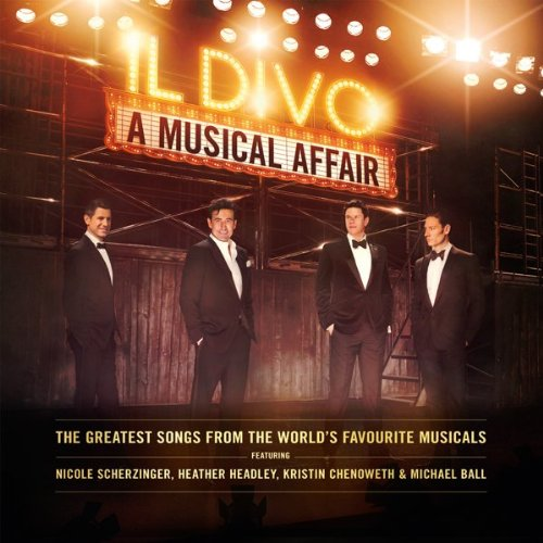 Image 0 of A Musical Affair Version By Il Divo On Audio CD Album Classical 2013